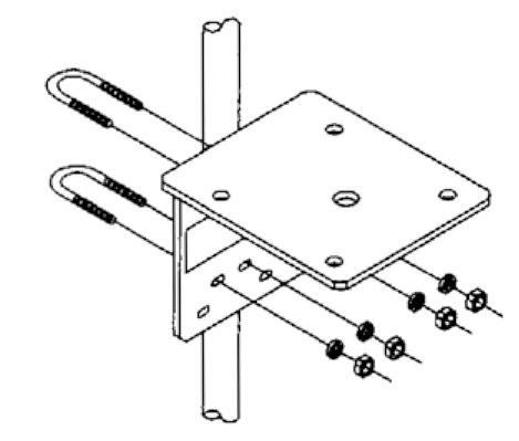 beacon/strobe mounting bracket