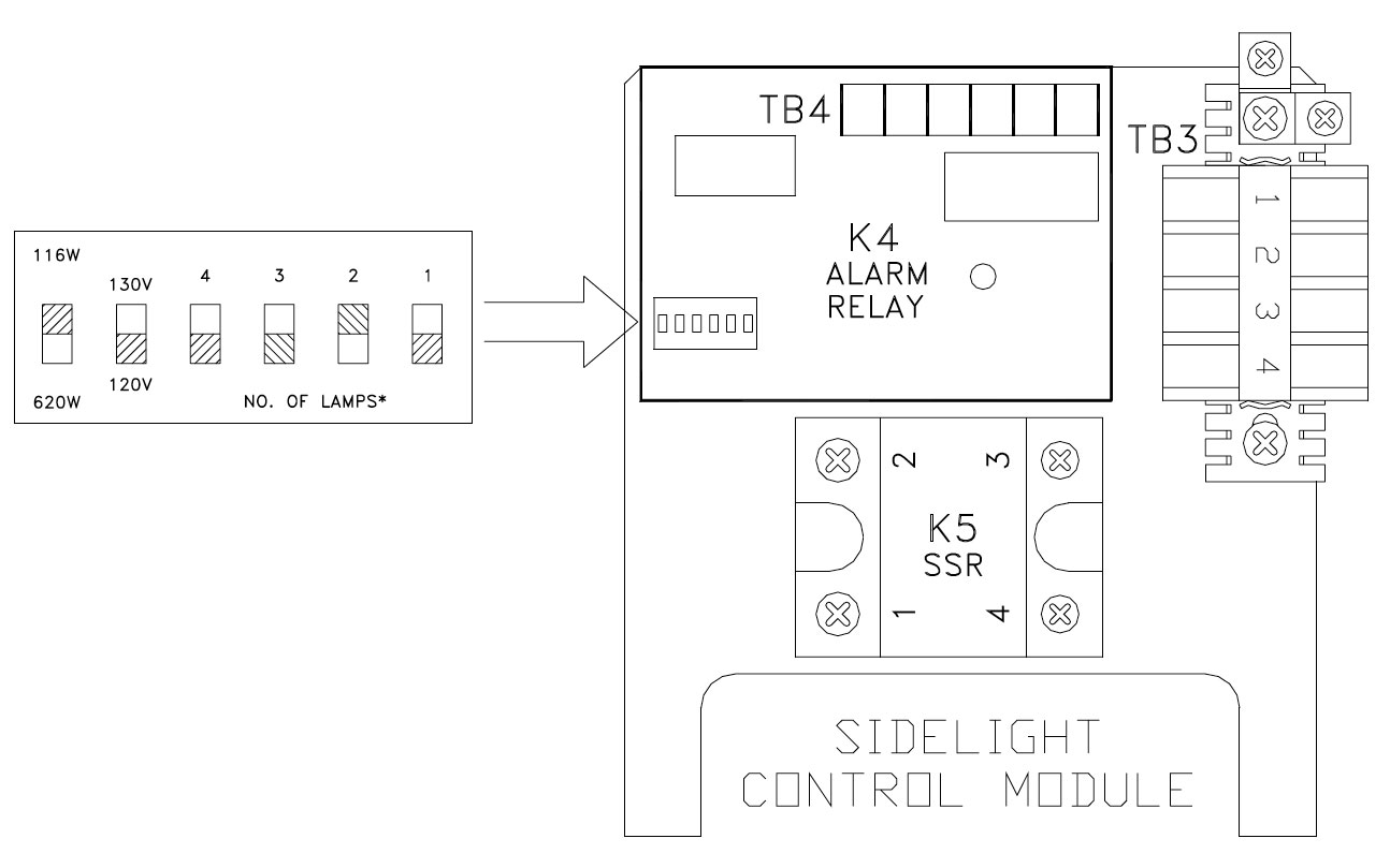 Troubleshooting Guide For Fg3000 Dual Medium Intensity Lighting Lamp Flasher Current 1a Figure 4 Sidelight Module Detail